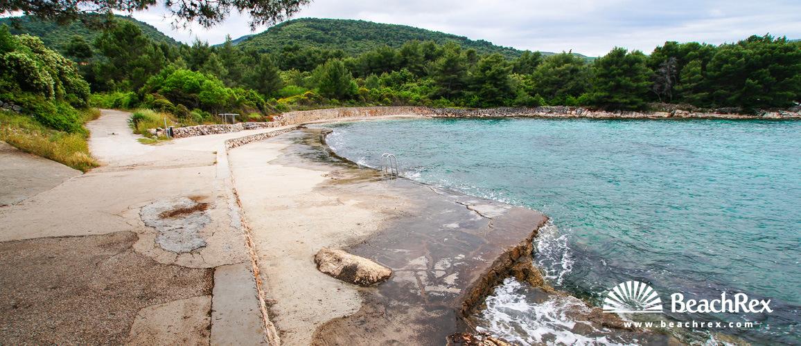 Croatia - Dalmatia  Split - Island Hvar -  Stari Grad - Beach Oslič