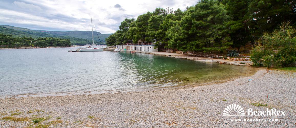 Croatia - Dalmatia  Split - Island Hvar -  Stari Grad - Beach Banj