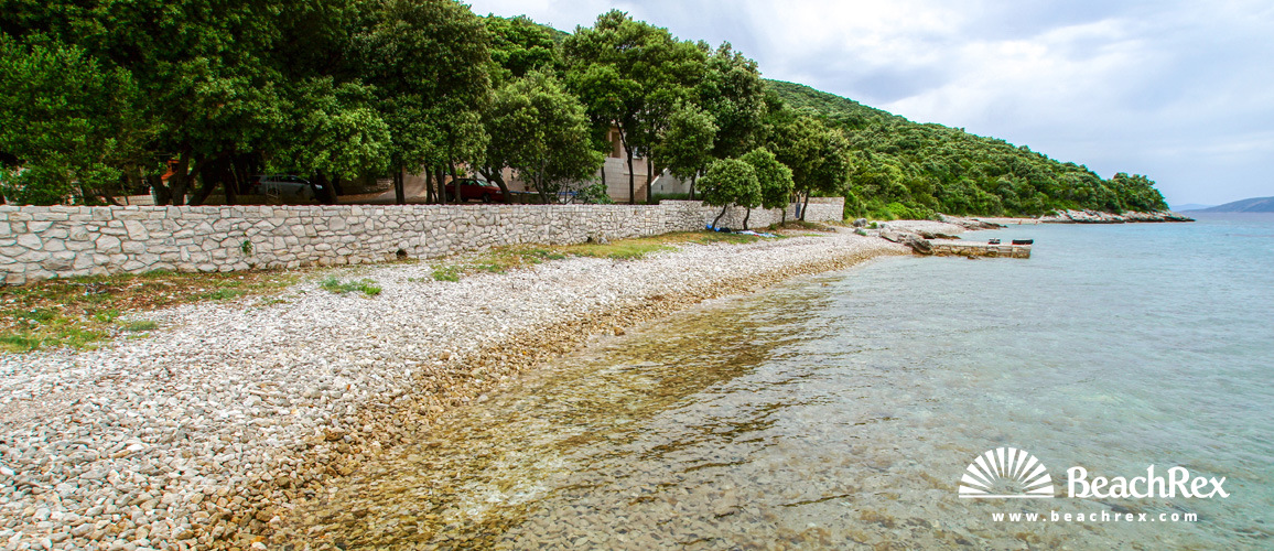 Croatia - Dalmatia  Dubrovnik - Island Korčula -  Žrnovo - Beach Tri žala