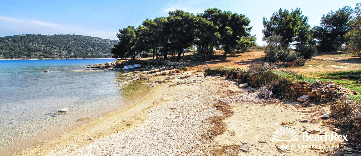 Croatia - Dalmatia  Šibenik - Island Murter -  Murter - Beach Garbinada