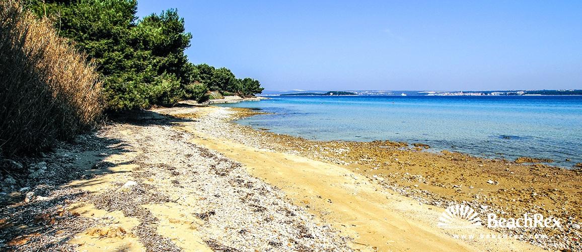 Croatia - Dalmatia  Zadar - Island Pašman -  Tkon - Beach Klanac