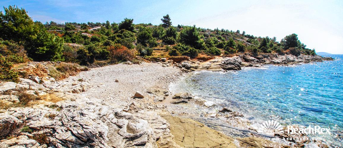 Croatia - Dalmatia  Šibenik - Island Murter -  Murter - Beach Julija