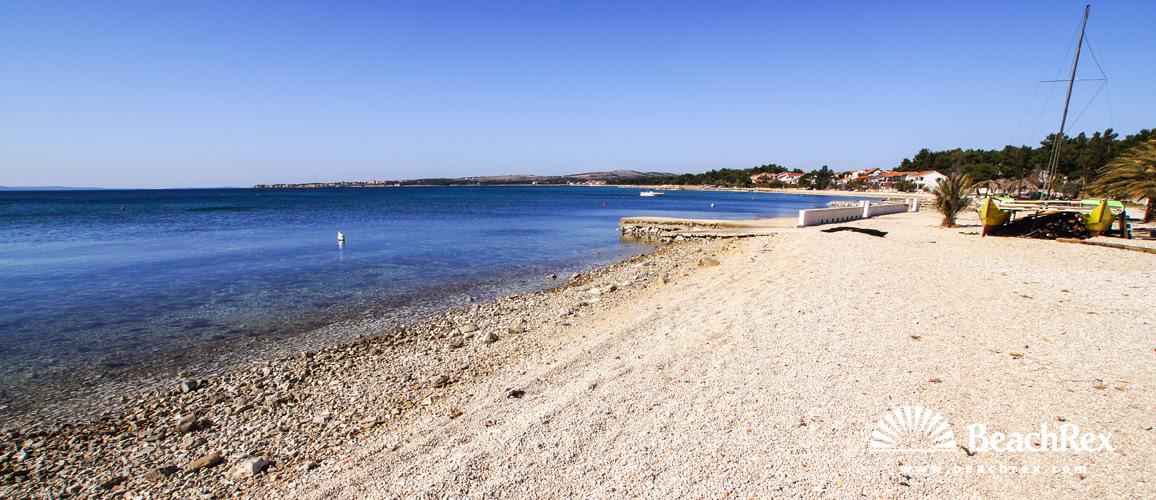 Croatia - Dalmatia  Zadar - Island Vir -  Vir - Beach Luka