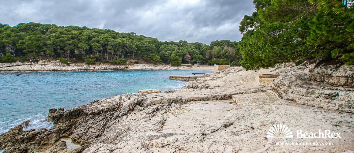 Croatia - Kvarner - Island Lošinj -  Mali Lošinj - beach Sunčana uvala