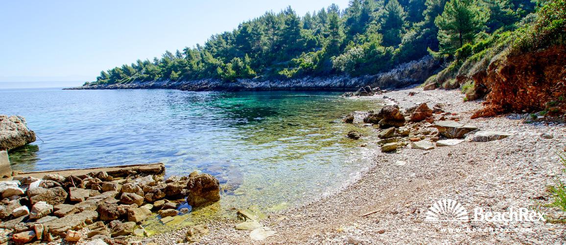 Croatia - Dalmatia  Dubrovnik - Island Korčula -  Vela Luka - Beach Garbin