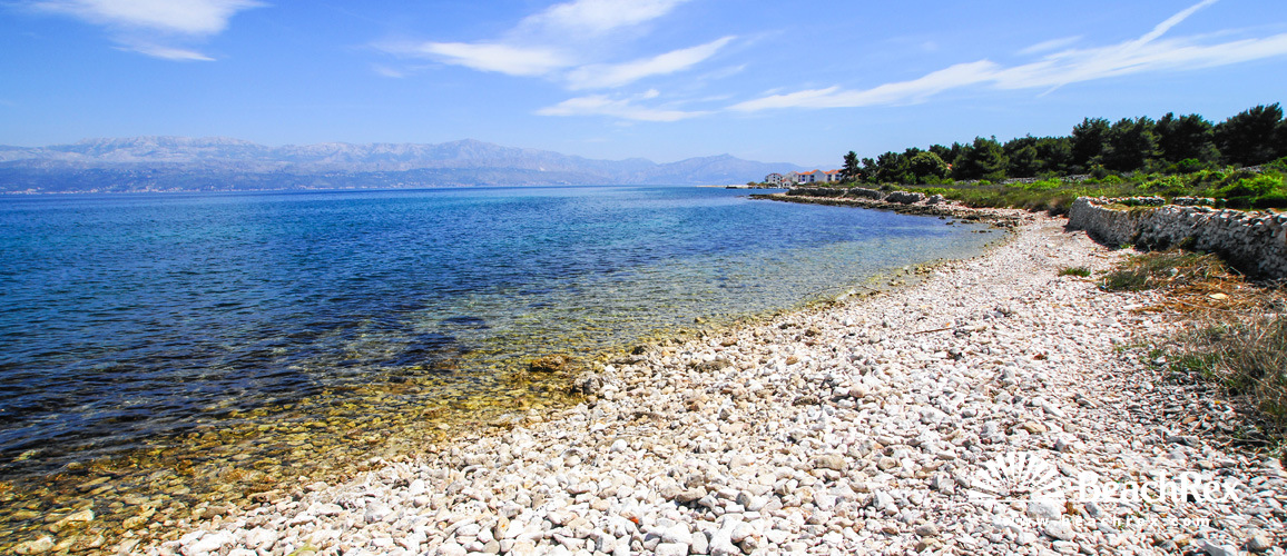 Croatia - Dalmatia  Split - Island Brač -  Mirca - Beach Dolores