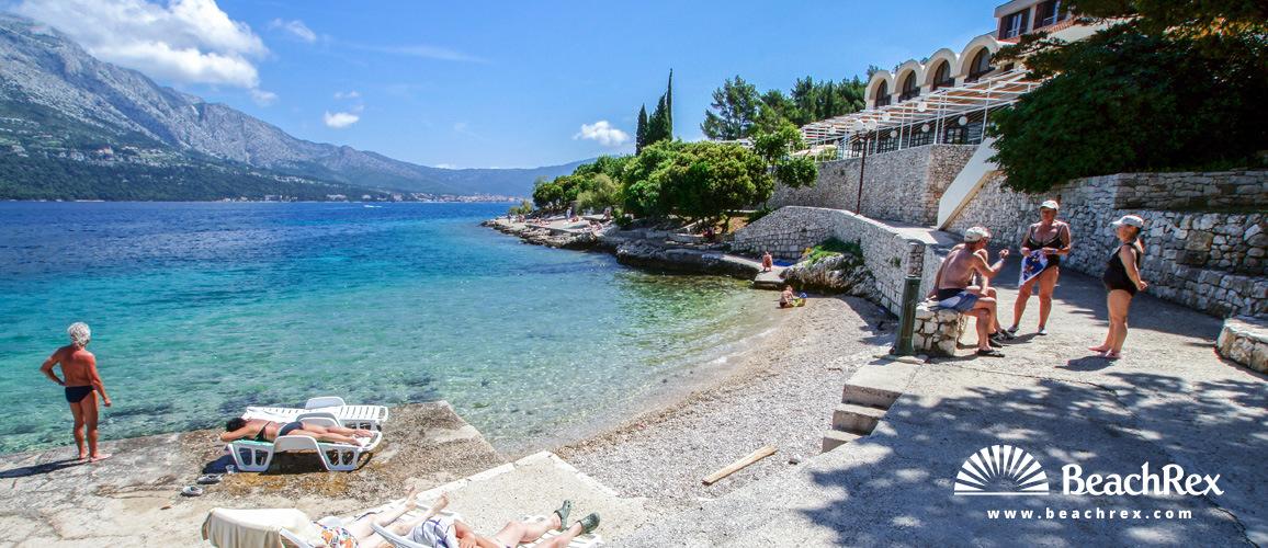 Croatia - Dalmatia  Dubrovnik - Island Korčula -  Korčula - Beach Banje