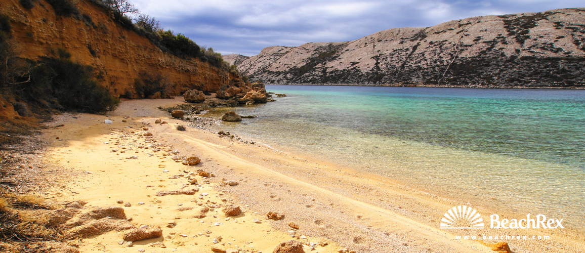 Croatia - Kvarner - Island Rab -  Barbat na Rabu - Beach Valentina