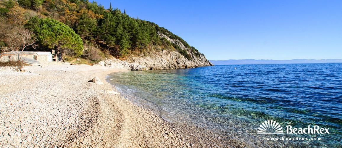 Croatia - Kvarner -  Mošćenička Draga - Beach Uboka