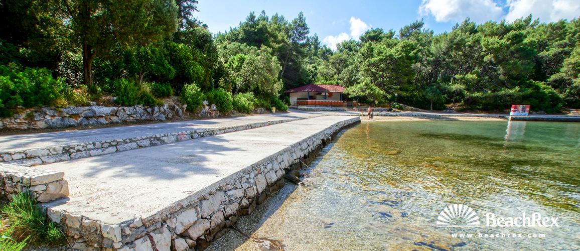Croatia - Dalmatia  Dubrovnik - Island Korčula -  Korčula - Beach Luka Korčulanska
