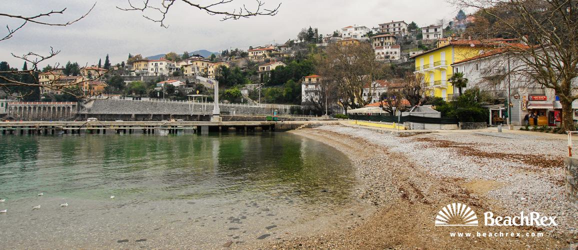 Croatia - Kvarner -  Opatija - Beach Ika