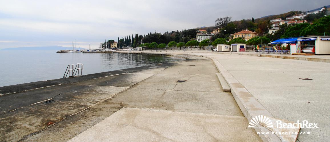 Croatia - Kvarner -  Opatija - Beach Ičići