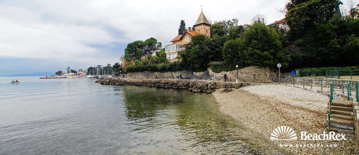 Croatia - Kvarner -  Opatija - Beach Tomaševac