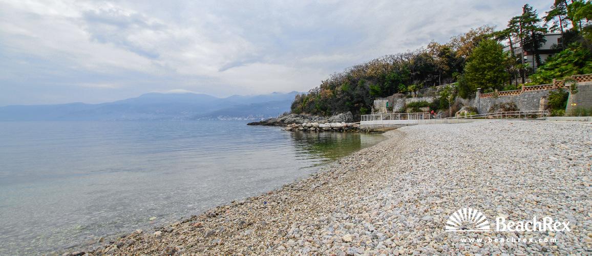 Croatia - Kvarner -  Rijeka - Beach Fiumana