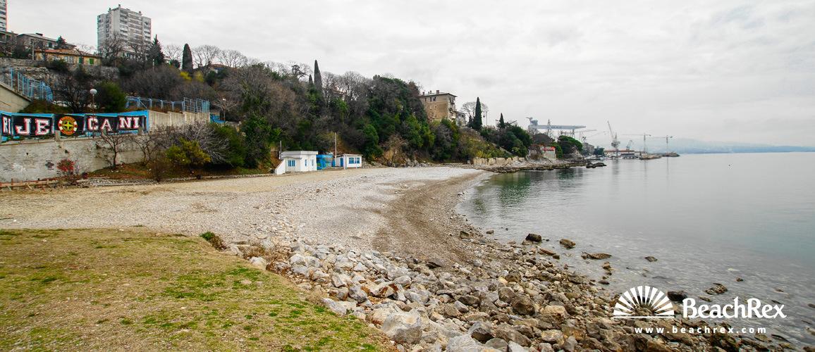 Croatia - Kvarner -  Rijeka - Beach Igralište