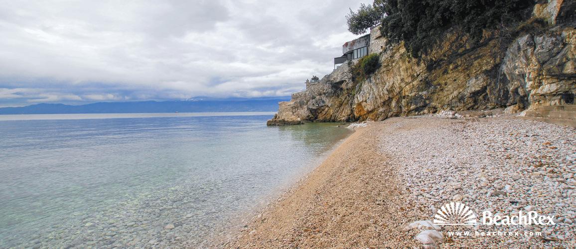 Croatia - Kvarner -  Rijeka - Beach Sablićevo