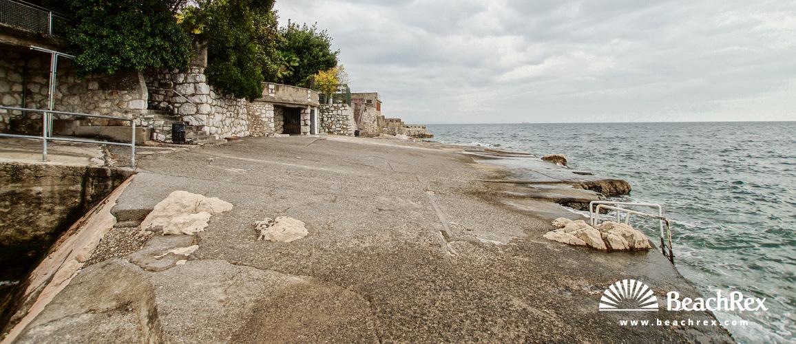 Croatia - Kvarner -  Rijeka - Beach Balavica