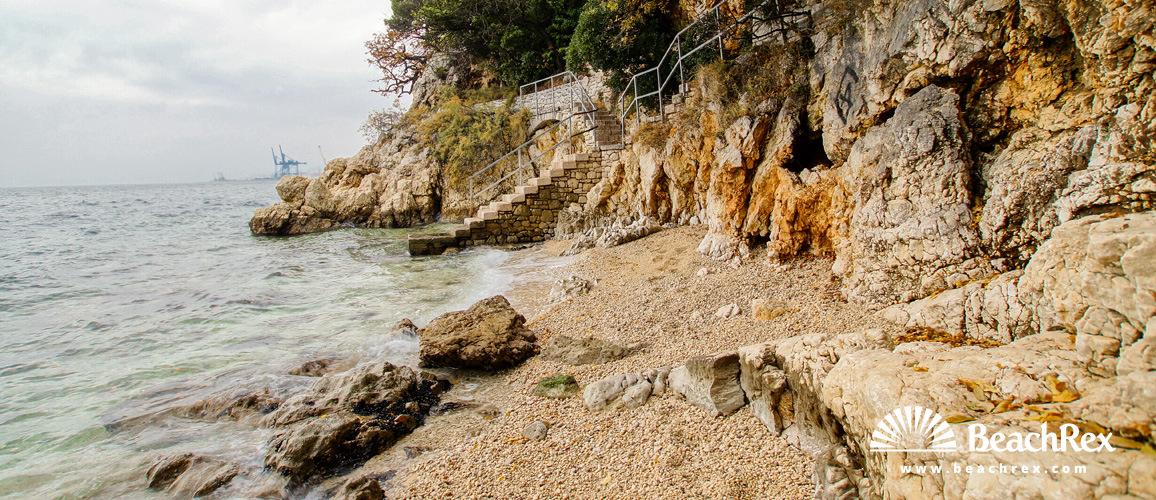 Croatia - Kvarner -  Rijeka - Beach Crnej