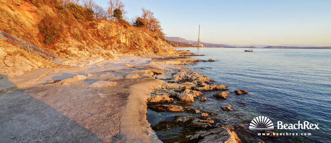 Croatia - Kvarner -  Rijeka - Beach Kostrena