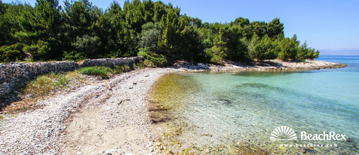 Croatia - Dalmatia  Split - Island Brač -  Mirca - Beach Vela Luka