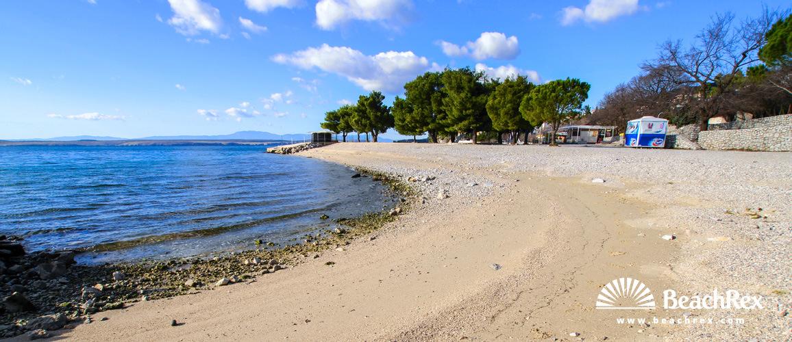 Hrvatska - Kvarner -  Dramalj - Plaža Omorika