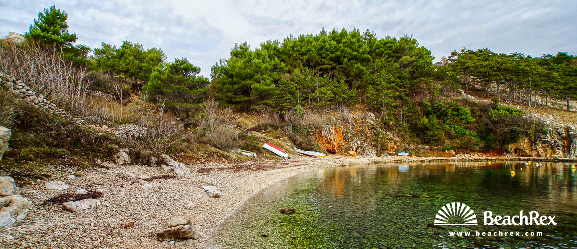 Croatia - Kvarner - Island Krk -  Vrbnik - Beach Nuluk