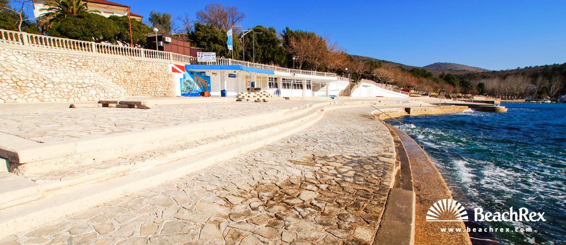 Croatia - Kvarner -  Selce - Beach Rokan