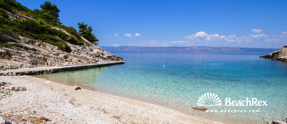 Croatia - Dalmatia  Split - Island Hvar -  Poljica - Beach Zečja