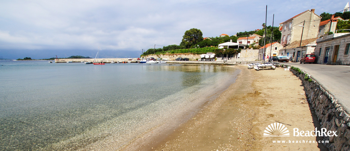 Croatia - Dalmatia  Dubrovnik - Island Korčula -  Lumbarda - Beach Tatinja