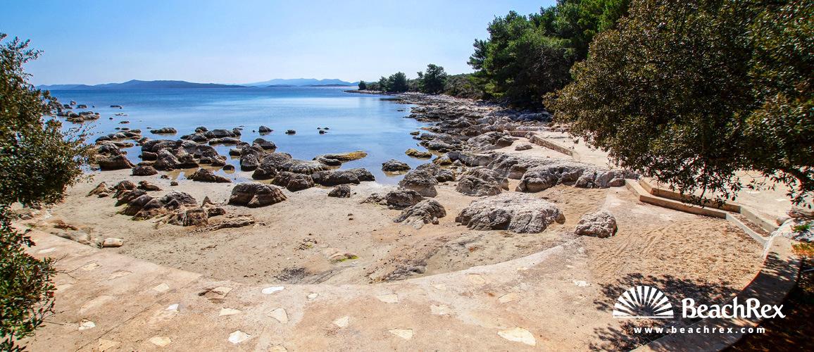 Croatia - Dalmatia  Zadar - Island Ugljan -  Muline - Beach Južna Luka