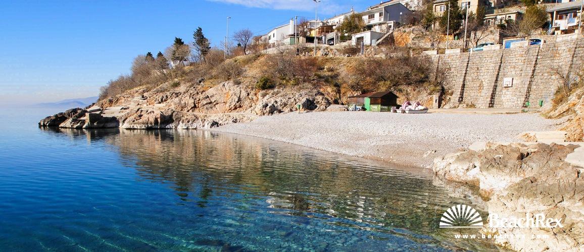 Croatia - Lika -  Senj - Beach Prva draga