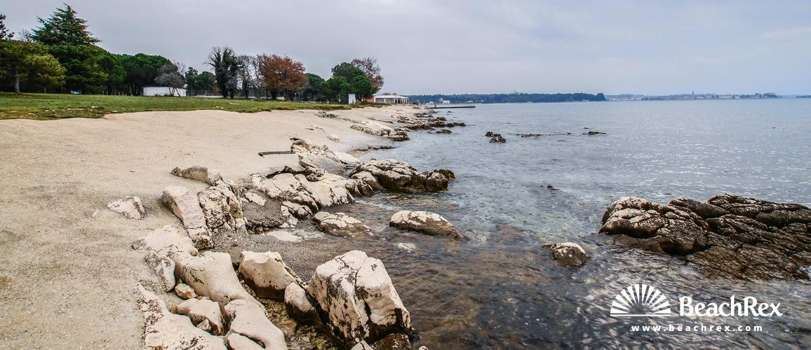Croatia - Istra -  Poreč - Beach Materada