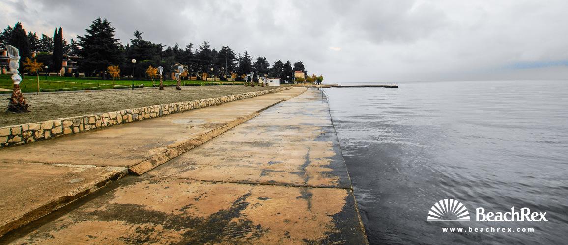 Croatia - Istra -  Poreč - Beach Laguna
