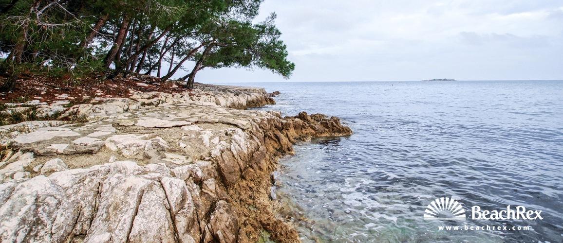 Croatia - Istra -  Poreč - Beach Perentium