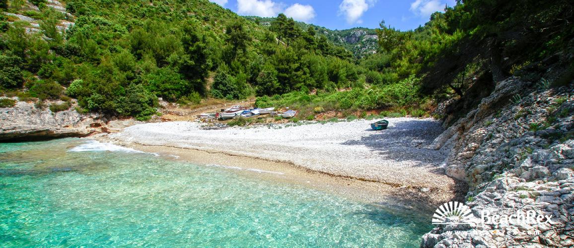 Croatia - Dalmatia  Dubrovnik - Island Korčula -  Žrnovo - Beach Orlanduša