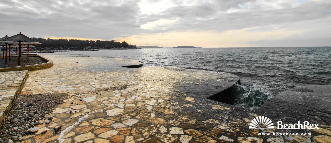 Croatia - Istra -  Poreč - Beach Zelena Laguna