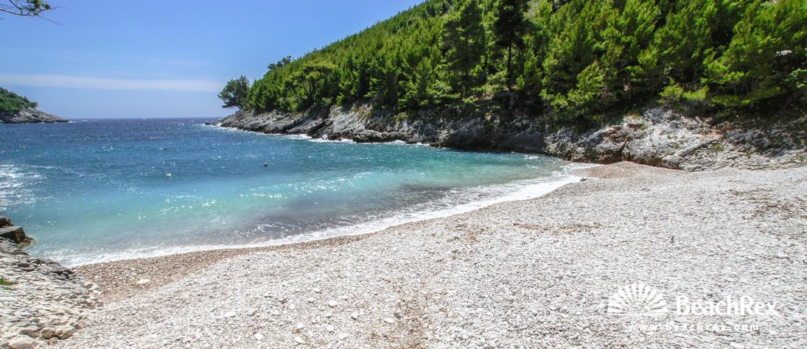 Croatia - Dalmatia  Dubrovnik - Island Korčula -  Žrnovo - Beach Bratinja