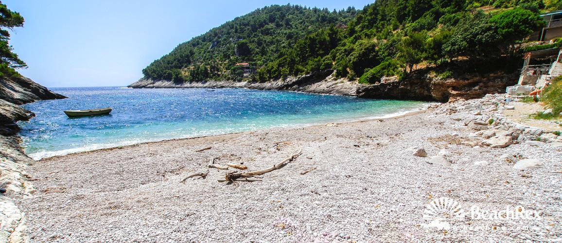 Croatia - Dalmatia  Dubrovnik - Island Korčula -  Pupnat - Beach Bačva