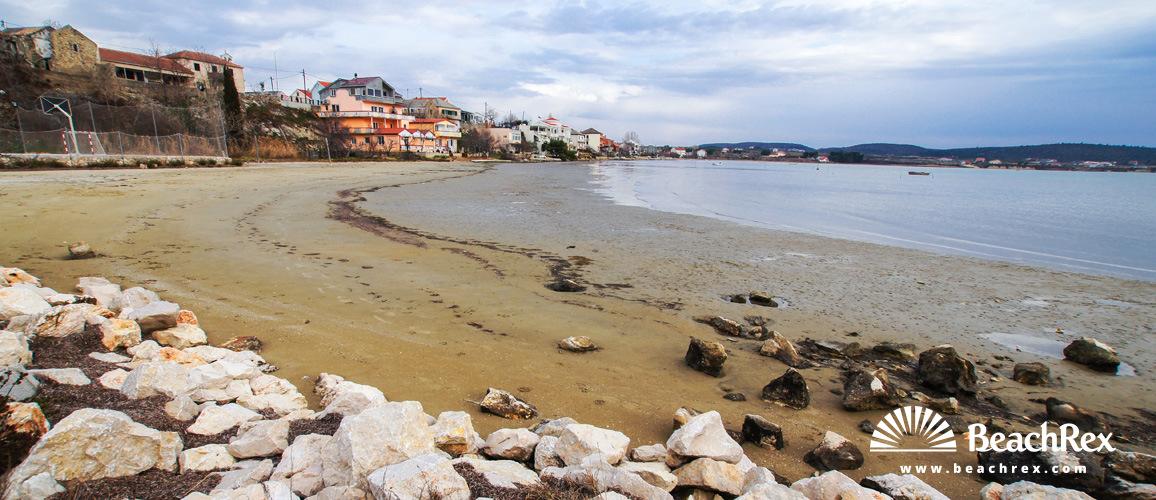 Croatia - Dalmatia  Zadar -  Ljubač - Beach Ljubač