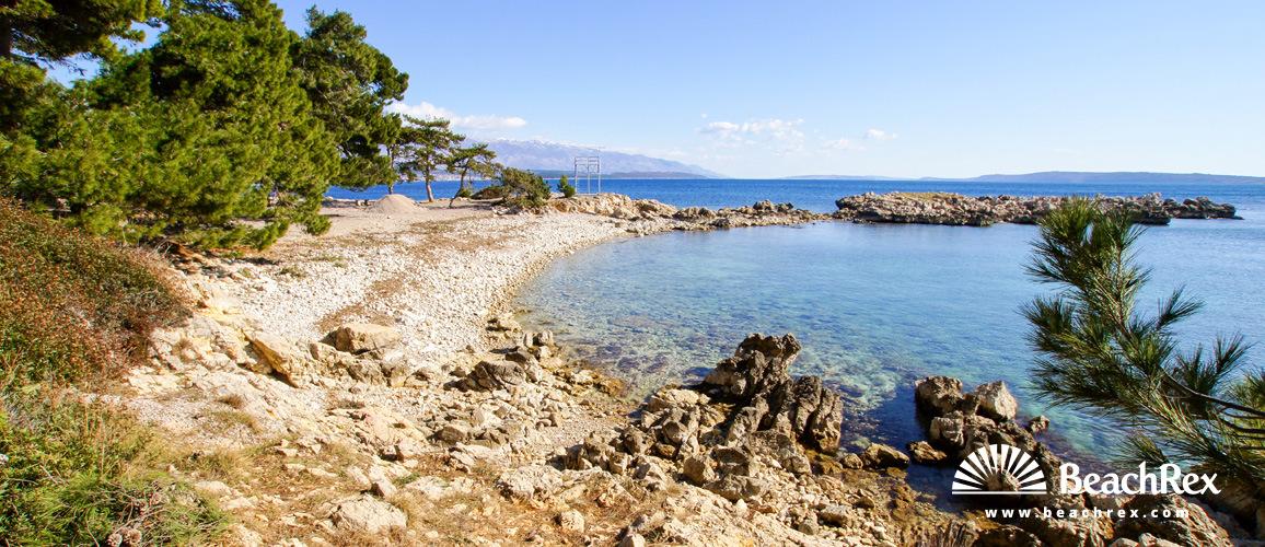 Croatia - Kvarner - Island Rab -  Kampor - Beach Carolina