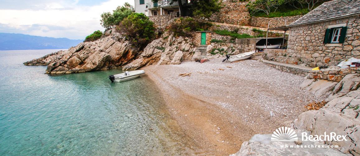 Croatia - Dalmatia  Split - Island Hvar -  Gdinj - Beach Pakomina