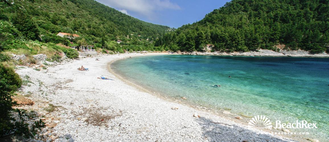 Croatia - Dalmatia  Dubrovnik - Island Korčula -  Pupnat - Beach Pupnatska luka