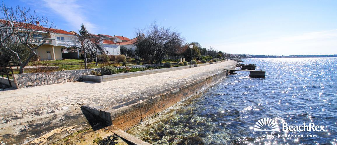 Croatia - Dalmatia  Zadar -  Zadar - Beach Diklo