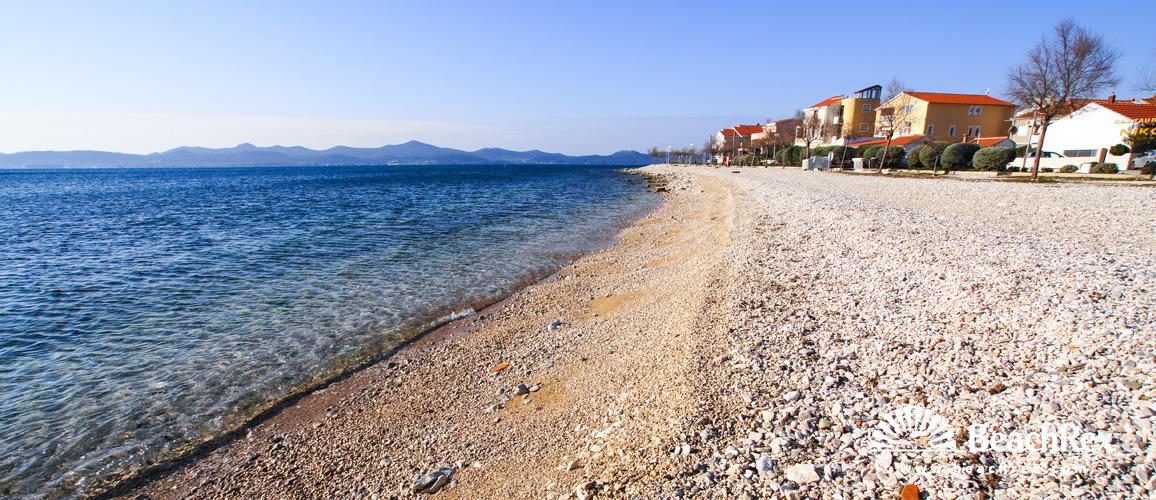 Croatia - Dalmatia  Zadar -  Zadar - Beach Puntamika