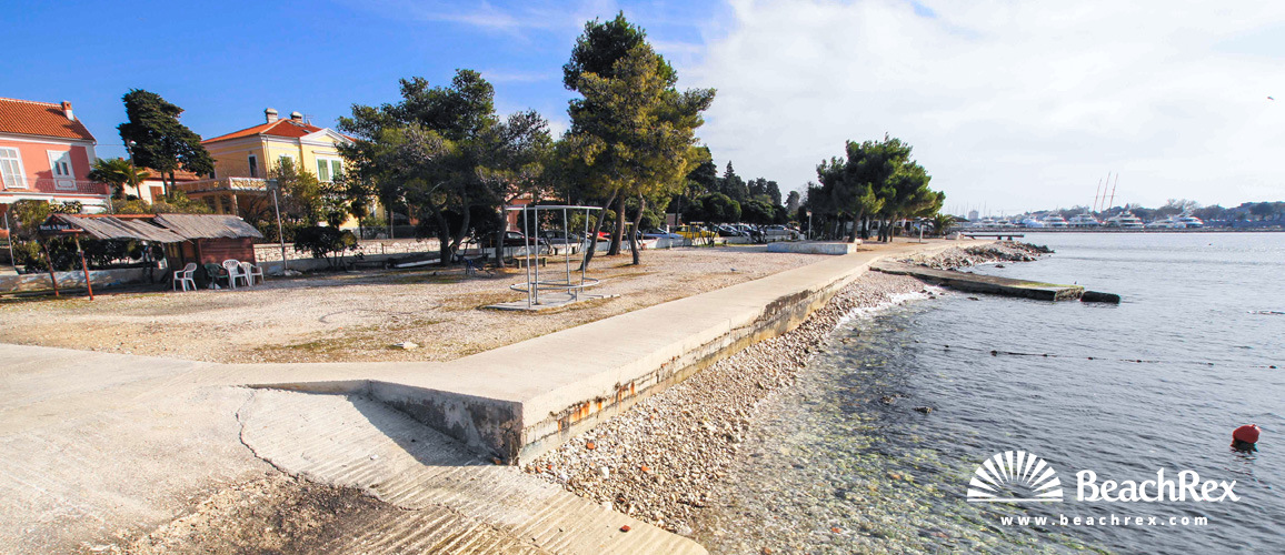 Croatia - Dalmatia  Zadar -  Zadar - Beach Maestrala