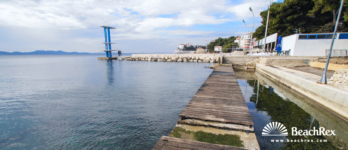 Croatia - Dalmatia  Zadar -  Zadar - Beach Kolovare