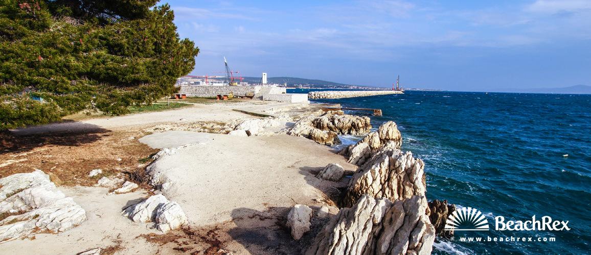 Croatia - Dalmatia  Zadar -  Zadar - Beach Bajlo