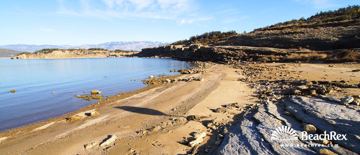 Hrvatska - Kvarner - Otok Rab -  Lopar - Plaža Luria