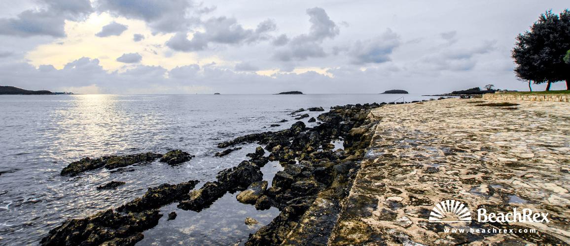 Croatia - Istra -  Vrsar - Beach Vankanela