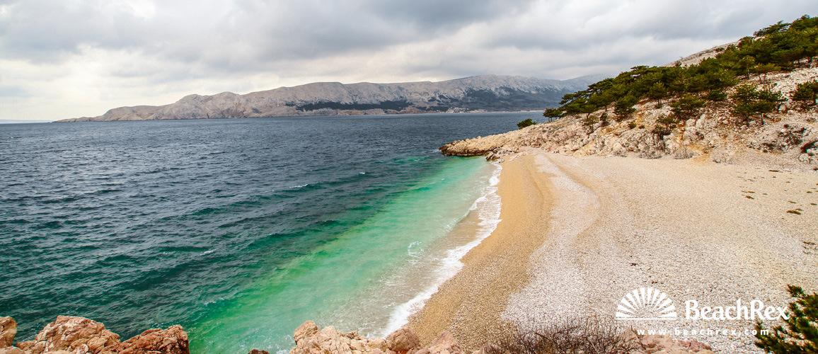Croatia - Kvarner - Island Krk -  Baška - Beach Storišće